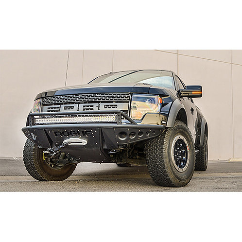 Rogue Racing 2010-2014 FORD SVT RAPTOR REVOLVER 2.0 FRONT BUMPER, LED light