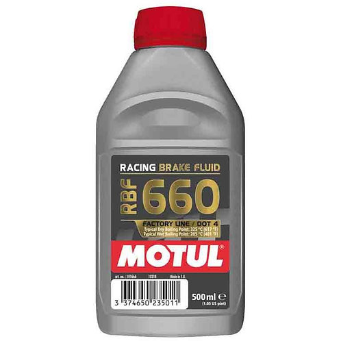 Motul RBF660 Dot4 Racing Brake Oil