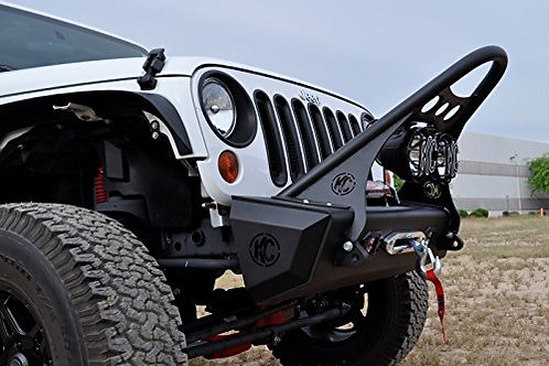 ADD Offroad Jeep JK Front Stealth Fighter Bumper W/ Center section