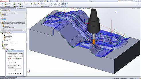 SolidWorks CAM Fabricação
