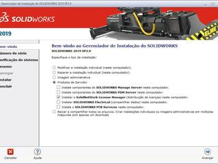 Guia rápido de download e instalação Licença Network - SOLIDWORKS