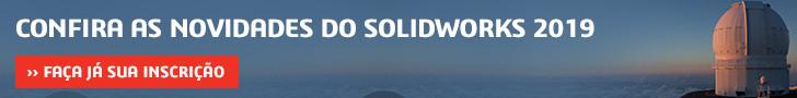 Inscrição SOLIDWORKS 2019