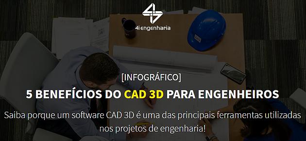 5 Benefícios CAD 3D Engenheiros