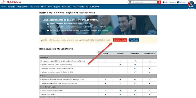c4d90862c MySolidWorks for Students – Como criar uma conta e por que eu deveria ter  uma