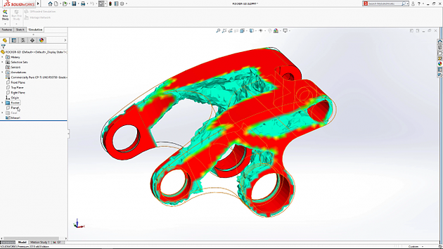 SIMULATION VIEW SOLIDWORKS