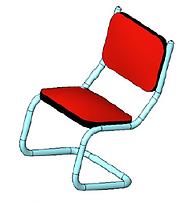 Análise não linear cadeira