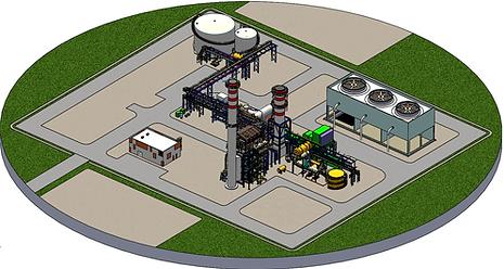 Projeto Planta Industrial