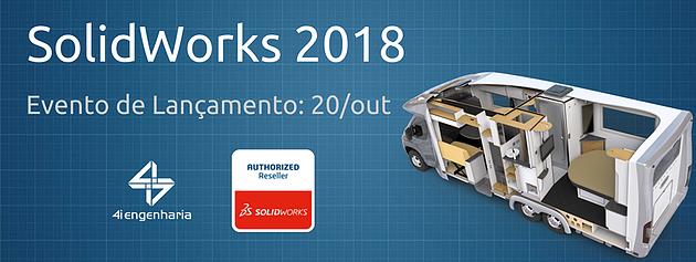 Lançamento SolidWorks 2018