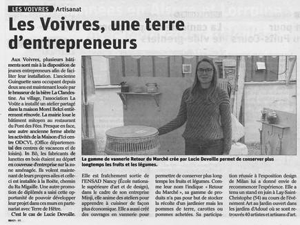 Les Voivres, une terre d'entrepreneurs