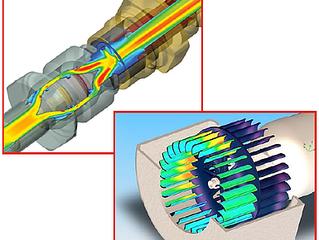 Como a simulação de fluxo incorporada acelera o processo de projetos mecânicos