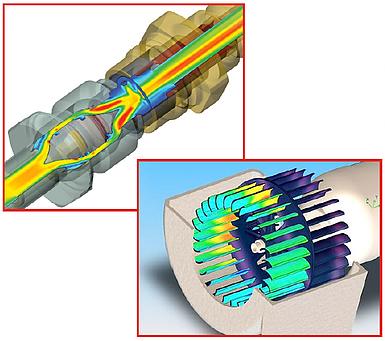 Simulação CFD Dinâmica dos Fluidos Computacional