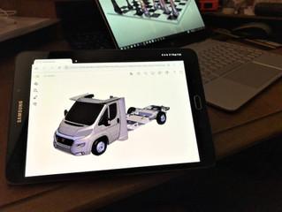 Veja como o eDrawings HTML permite que usuários não CAD interajam com projetos compartilhados