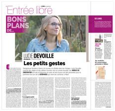 Les bons plans de Lucie Devoille - Les petits gestes