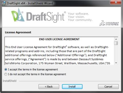 DraftSight - License Agreement