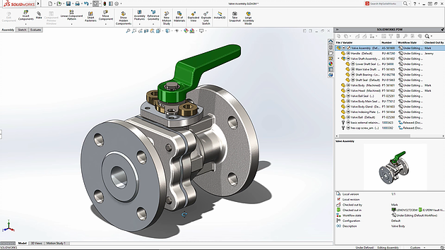 SOLIDWORKS Product Data Management PDM