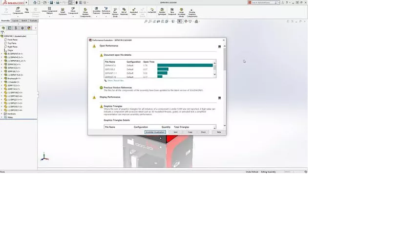 BARRA PROGRESSO SOLIDWORKS 2018