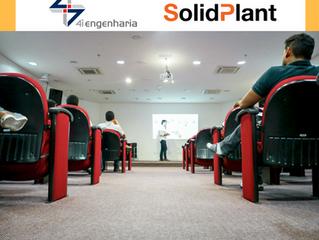 Evento SolidPlant no Brasil com a 4i Engenharia