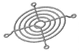 Análise geometria não linear grade ventilador