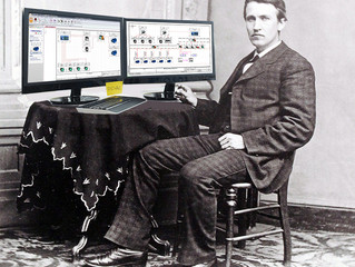 E se Thomas Edison usasse o SOLIDWORKS Electrical?