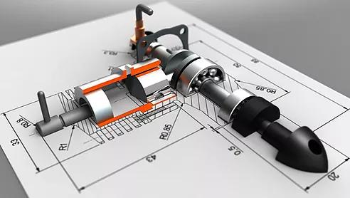 CAD 2D para 3D SolidWorks