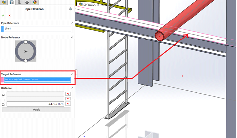 Pipe Elevation