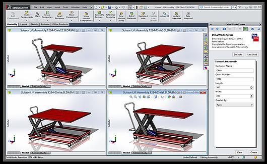 Automação Projeto SolidWorks