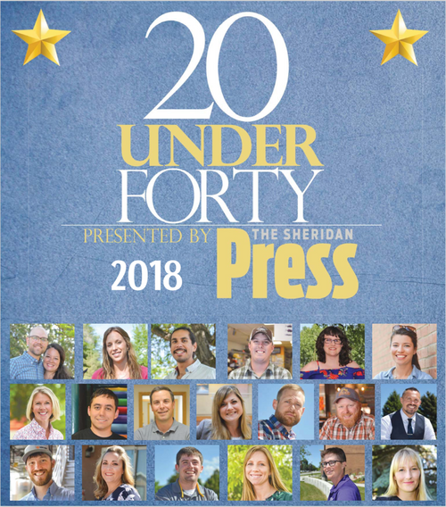 The Sheridan Press: 20 Under Forty, Class of 2018