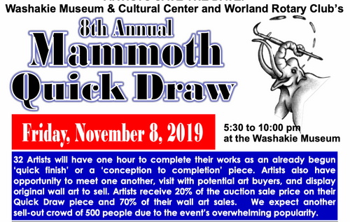 Washakie Museum Quickdraw 2019
