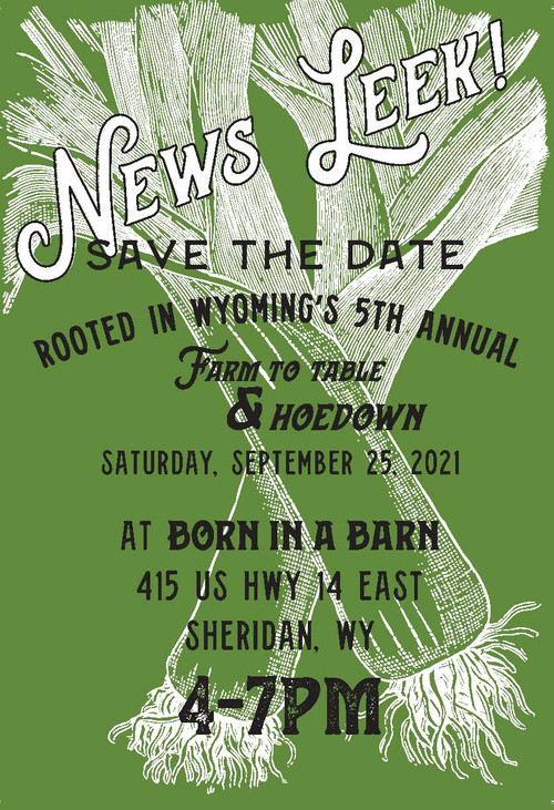 5th Annual Rooted in Wyoming Hoedown