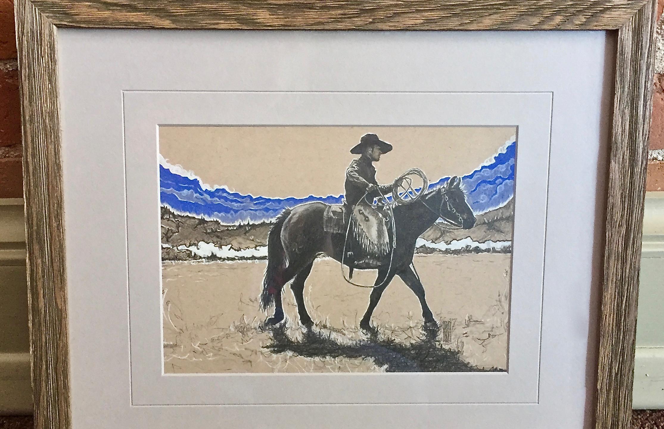 SWINGIT,COWBOY(c)2017_FRAMED