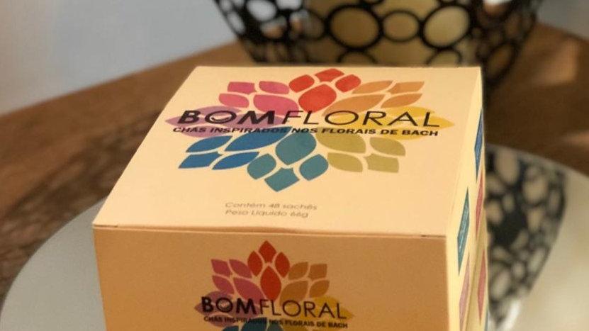 Caixa de Chá Mix Bom Floral 48 sachês