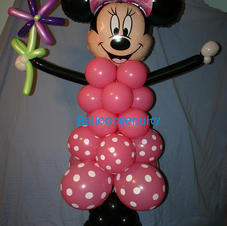 Minnie balloon delivery