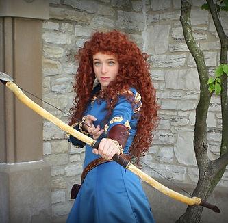 Merida Brave Scottish Princess Happily E