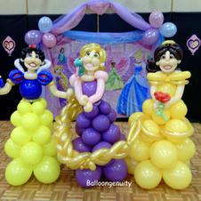 Princess balloon delivery