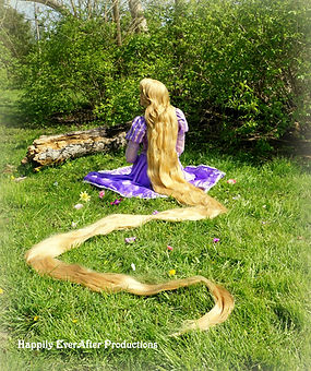 Rapunzel hair down Happily Ever After Pr