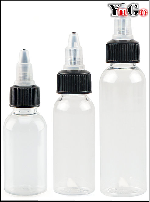 PR-5# Twist Cap Bottle PET 30ml 50ml 60ml 100ml 120ml
