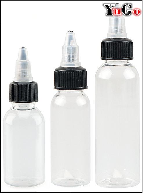 PR-5# Twist Cap E-Liquid Bottle PET 30ml 50ml 60ml 100ml 120ml