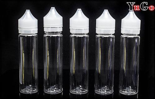 PR-15# Clear PET Super Unicorn Style E-Liquid Bottle (10ml to 200ml)