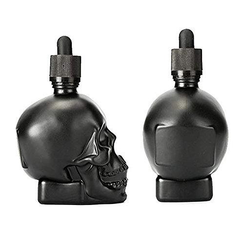 GLS-3#-Skull Glass Bottle