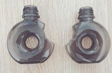 PR-21#-Donut PET Bottle 60ml GCC CRC Tamper Evident