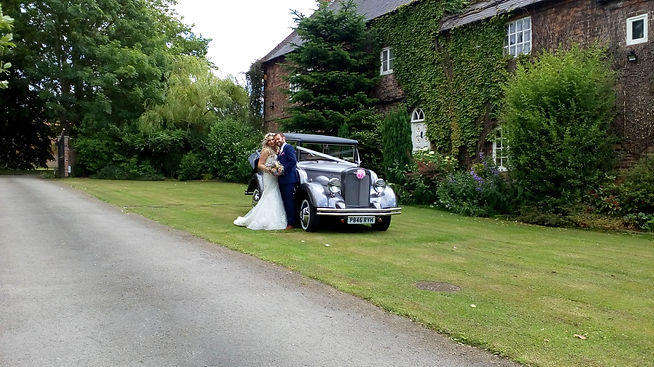 Vintage Wedding Cars In Yorkshire