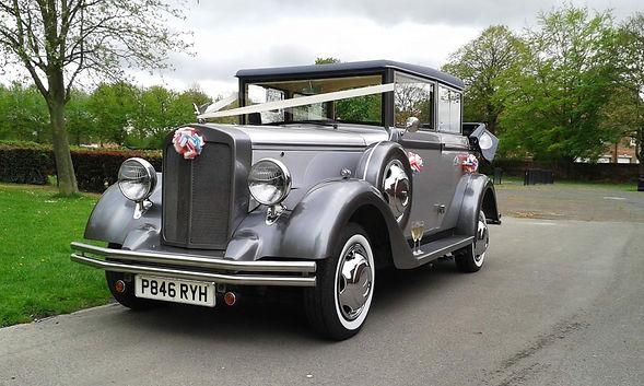 Regent Landaulet Wedding Car