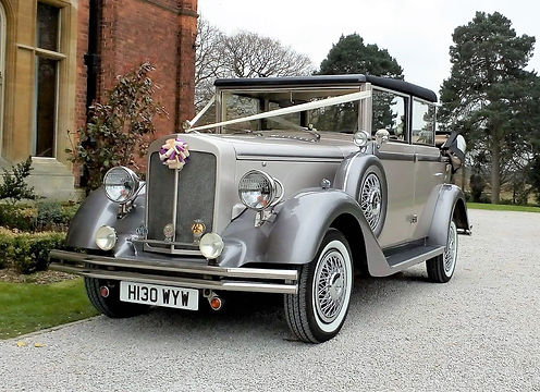Local South Yorkshire Wedding Cars