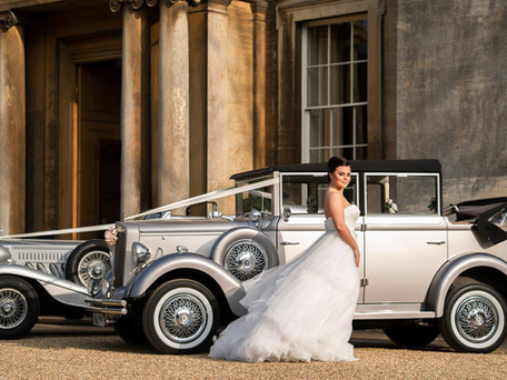 Silver Vintage style Wedding Car Hire Scunthorpe