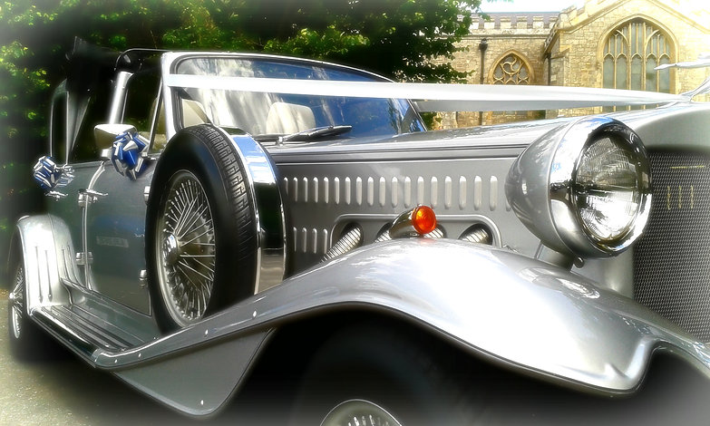 Silver Wedding Cars In Doncaster