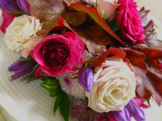 お花に癒された週末