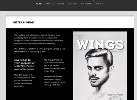 "Mr. B ""Wings"" magazine goes online"