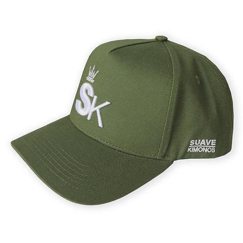 Baseball Cap | SK | Army Green