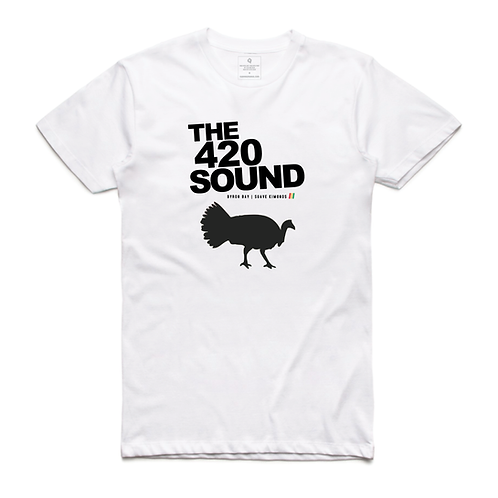 Tshirt | The 420 Sound | White