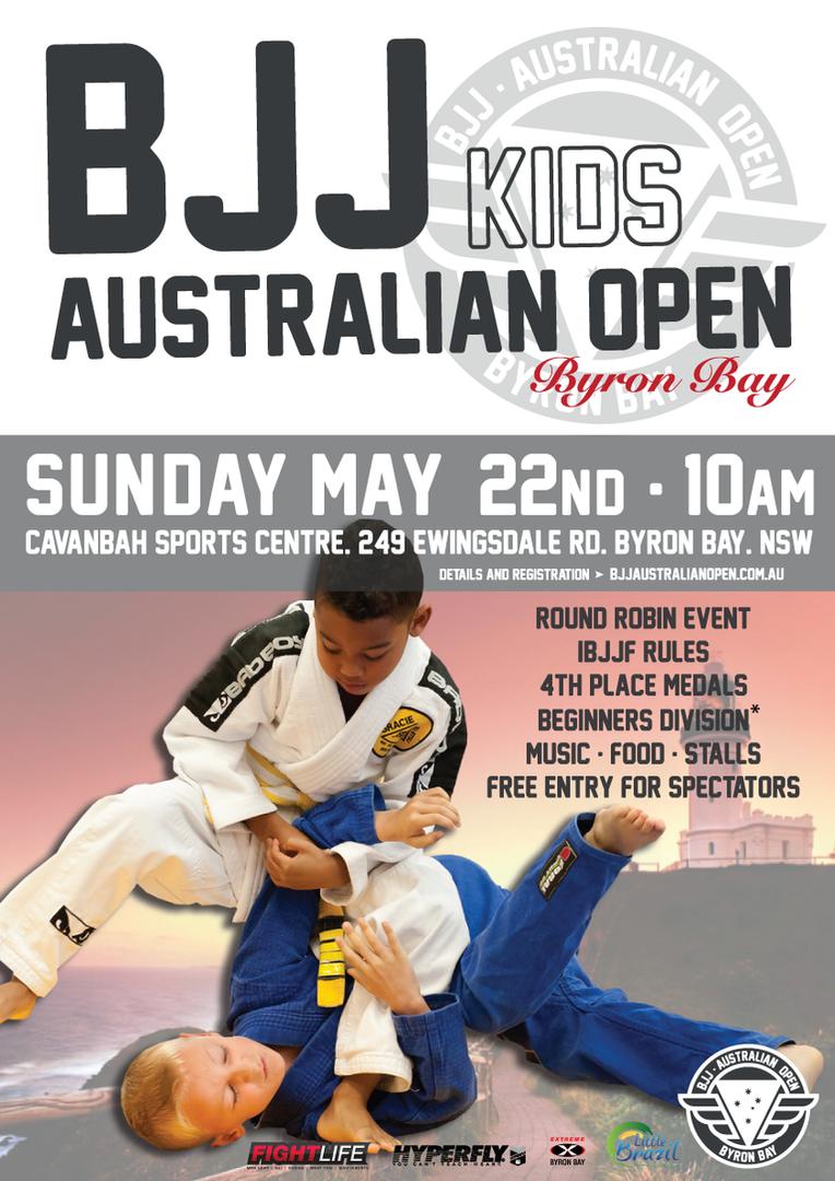 BJJ Kids Australian Open 2016